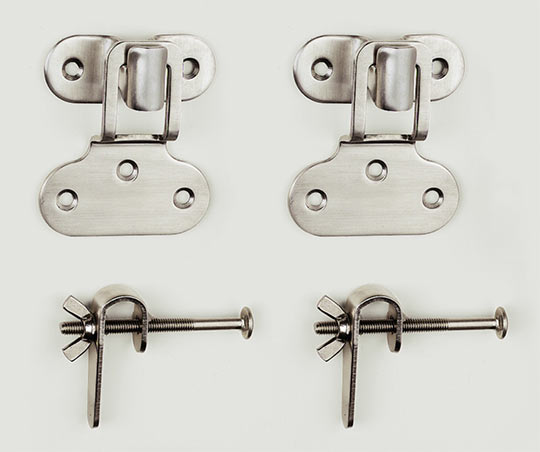 Storm And Screen Traditional Brass Window Hardware