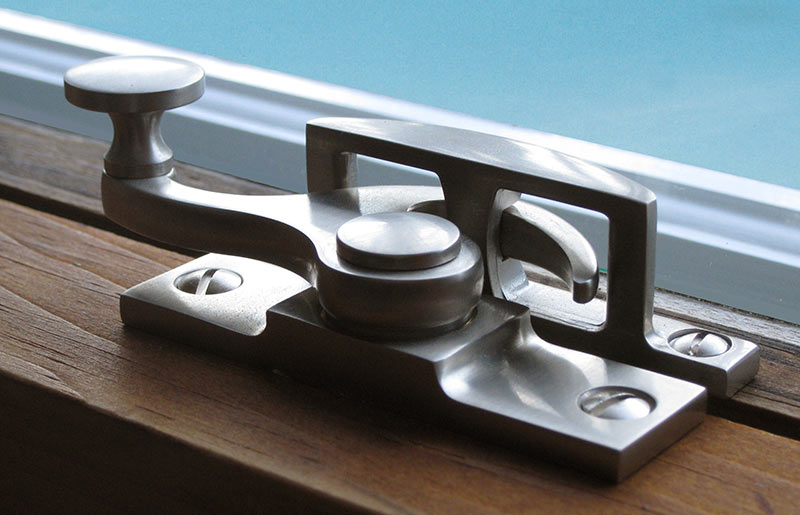 Satin Nickel Sash Lock